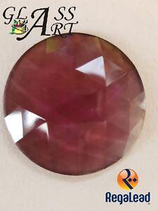 Suncatcher glass Amethyst glass jewel Regalead RJ40R6 40mm stained glass window