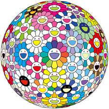 "Takashi Murakami ""Expanding universe""Ed.300 Flower lithograph Signed"