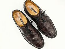 FLORSHEIM IMPERIAL Shell Cordovan Longwing Dress Shoes Color 8 Burgundy 8.5 D