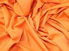 Orange Cotton Drill Dress Fabric 150cm Wide by The Metre P P