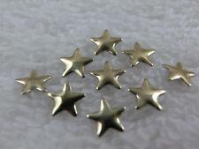 100 Hotfix à repasser Métal - Formes étoile Or 5 mm Strass Boite pierre karo