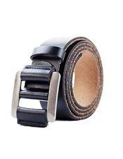 Men's Genuine Leather Belt - Adjustable Classic Dress Belts for Men