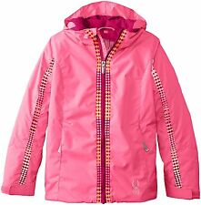Spyder Kids Bitsy Charm Snow Jacket, Ski Snowboarding Jacket, Size 16 Girls, NWT