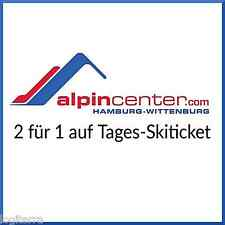 Alpincenter Hamburg-Wittenburg 2 für 1 Tages-Skiticket