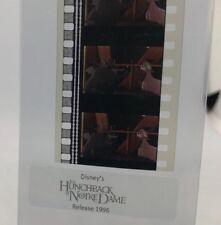 Disney HUNCHBACK NOTRE DAME Authentic Animation Film 5-Cell Strip GARGOYLE &GOAT
