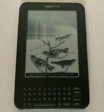 Amazon Kindle D00901 WiFi eBook eReader - Broken Screen