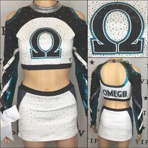 Cheerleading Uniform Omega   Allstar Adult S