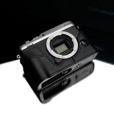 Gariz XS-CHXE3BK Genuine Leather Half Case for Fuji XE3 Black