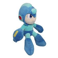 "Mega Man Rockman Super Smash Bros Mario Light Soft Plush Toy Stuffed Animal 10"""