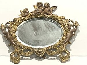 Antique Bronze Cupids' Mirror
