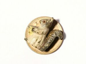 Cold Painted Bronze Miniature Goody Tiptoes Squirrel Beatrix Potter #118E