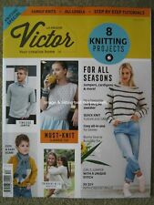 La Maison Victor 2019 issue 12 8 Knitting Patterns Projects Scarf Jumper Top