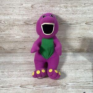 Vintage Playskool Play Along Barney Dinosaur Talking Soft Toy Interactive 1992