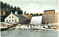 WATERVILLE ME – Union Gas and Electric Co. Power Station - 1909