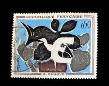 France - 1961 , French Art Braque  used