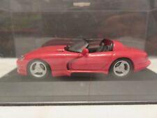 Minichamps 1993 Dodge Viper Cabriolet Red 1/43 Scale Paul's Model Art