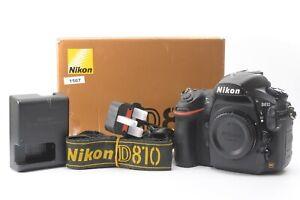 Nikon D810 36.3MP Digital SLR DSLR Camera (Body Only) - Black - Complete in Box