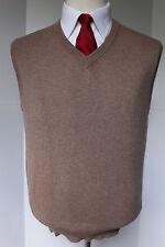 Mens Turnbull Asser Cashmere Slipover Sweater V Neck Vest XSmall Scotland