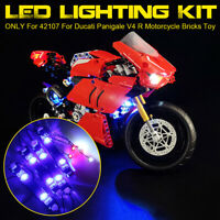 ONLY LED Light Lighting Kit For LEGO 42107 For Ducati Panigale V4