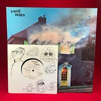 "SWELL MAPS A Trip To Marineville 1979 UK Vinyl LP + INNER + & 7"" ROUGH TRADE 2"