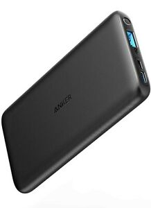 Anker PowerCore Lite 10000mAh, USB-C Input (Only), High Capacity Portable Charge