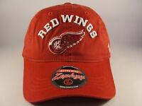 Detroit Red Wings NHL Zephyr Strapback Hat Cap Centerpiece