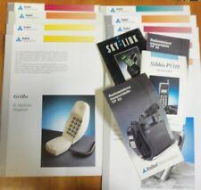 Cataloghi Italtel Telematica Telefonia Radiomobile Fax anni 80