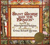 Saint George And The Dragon by Schart Hyman, Trina Paperback Book The Fast Free