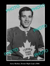 Old 6 X 4 Historic Photo Of Ice Hockey Great Gerry Meeham, Toronto Maple Leafs