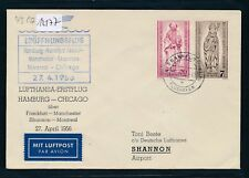 12177) LH FF Frankfurt  - Shannon Irland 27.4.56, SoU MiF Bistum Bln