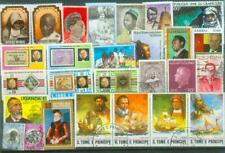 Lot Briefmarken aus Afrika = Personen