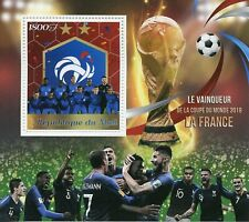 Mali 2018 MNH World Cup Football Russia France Winners 1v S/S Soccer Stamps