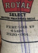 14 lbs Peru Cenfrocafe DECAF Green Unroasted Coffee Beans Select Water Process
