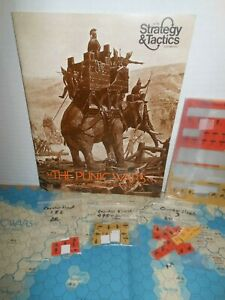 Strategy & Tactics Mag w/Game S&T#53 Punic Wars 264-146 BC ROME v CARTHAGE 1975