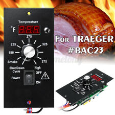 Upgrade Wood Pellet Grill Digtal Thermostat Controller Board For TRAEGER #BAC23