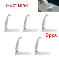 5PCS RV Trailer Baggage Door Clips/Catch Compartment Latch Holder RV Camper