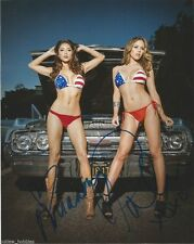 UFC Ring Girl Brittany Palmer Arianny Celeste Autographed Signed 8x10 Photo COA
