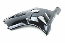 02-05 KAWASAKI NINJA ZX12R BLACK LEFT MID UPPER SIDE FAIRING COWL PLASTIC