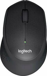 Logitech - M330 Silent Plus Wireless Mouse - Black