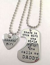 She Stole My Heart She Calls Me Daddy Heart Necklace Fast Ship USA Seller