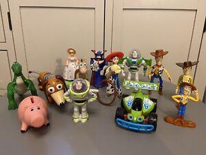 Disney Toy Story Bundle Figures Bo Peep Rc Zurg Slinky Hamm Rex Jessie Woody