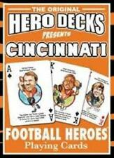 Cincinnati Bengals Hero Deck The Original Hero Decks Playing Cards
