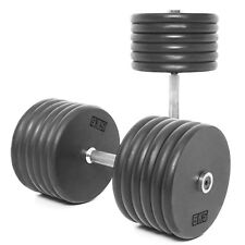 Body Power Pro-style Dumbbells 60kg (x2)