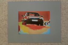 1985 Porsche 928 Coupe Showroom Advertising Sales Poster RARE!! Awesome LARGE