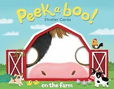 Peekaboo! Stroller Cards: on the Farm by Robie Rogge (2017, Print, Other)