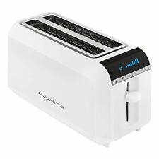 Rowenta TL 6811 4-Scheiben Toaster 1600 W digitales LC-Display 8 Bräunungsstufen