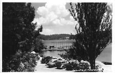 RPPC LAKE ARROWHEAD Blue Jay, CA 1945 Vintage Photo Postcard