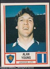 PANINI CALCIO 1981 Sticker-n. 160-LEICESTER CITY-Alan Young