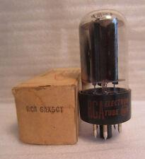RCA 6AX5GT Electronic Electron HAM Radio Audio Amplifier Tube In Box Vintage NOS