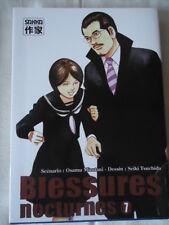 Blessures nocturnes Vol.7 MIZUTANI Osamu SAKKA MANGA GUETTEUR DRAME SEINEN